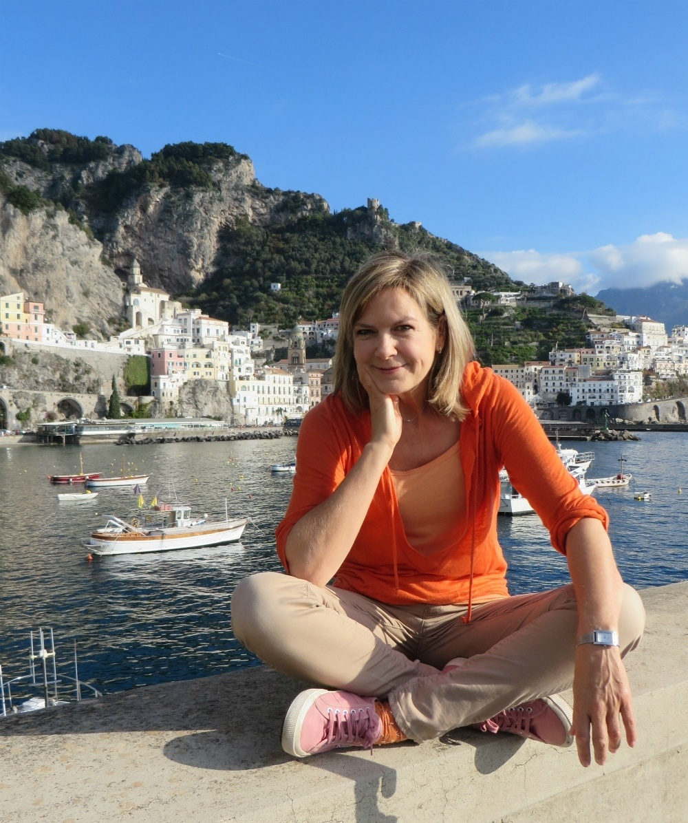 Penny Smith on Travelsphere Amalfi tour