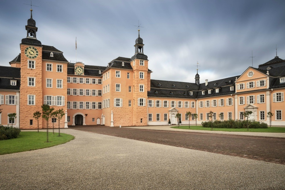 Schwetzingen Palace and Gardens in South West Germany Photo: Günther Bayerl