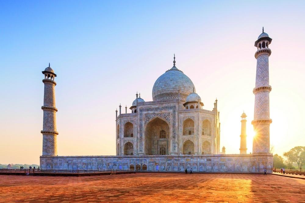 Taj Mahal on Travelsphere tour