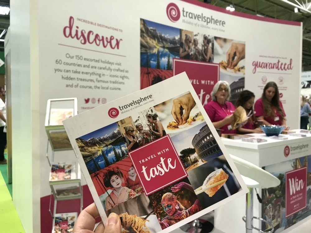 Travelsphere at BBC Good Food Show Photo Heatheronhertravels.com