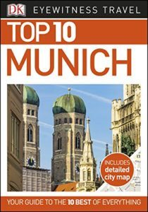 DK Top 10 Munich guide Book