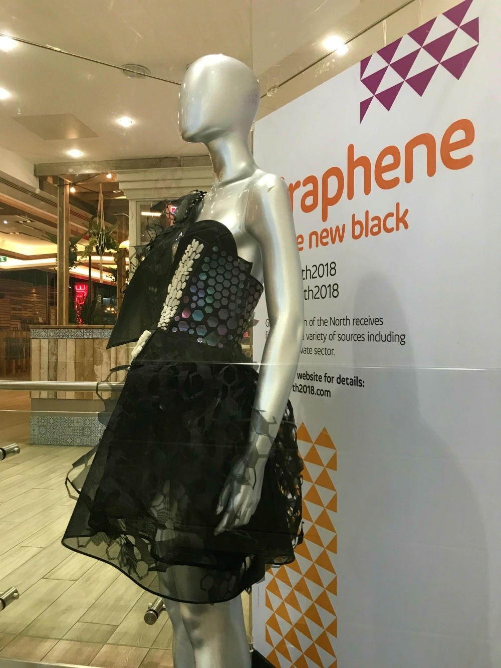 Graphine Dress - Great Exhibition of the North Newcastle Photo Heatheronhertravels.com