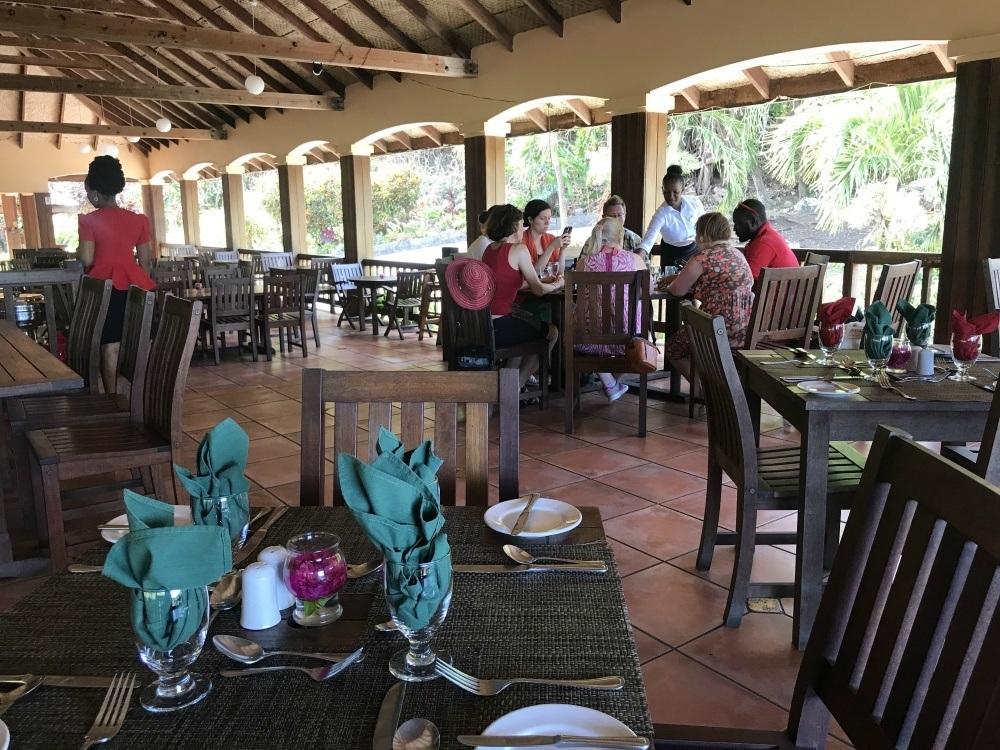 Lunch at Belmont Plantation on Grenada Photo Heatheronhertravels.com