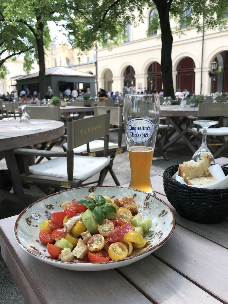 Lunch in Munich Tambosi Photo Heatheronhertravels.com
