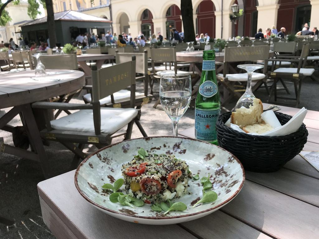 Where to eat in Munich - Lunch on the outdoor terraces - Read about delicious food in Munich