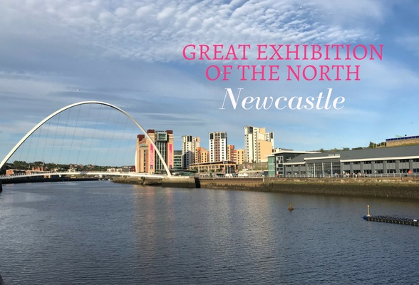 Great Exhibition of the North in Newcastle, England - a celebration of Northern arts and culture