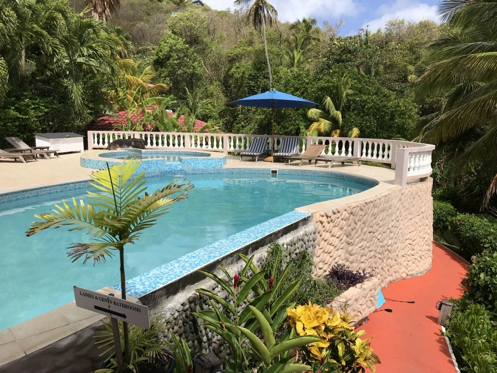 Pool at Petite Anse in Grenada Photo Heatheronhertravels.com