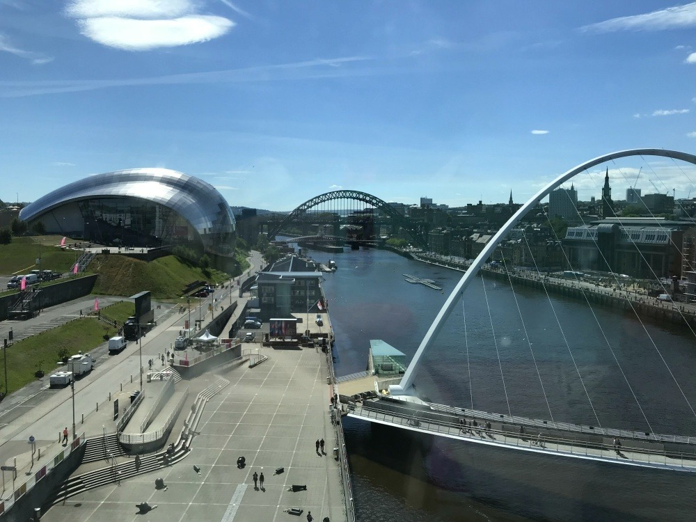 View from Baltic Centre - Great Exhibition of the North Newcastle Photo Heatheronhertravels.com
