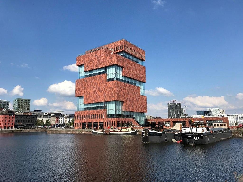 Antwerp on our Titan River cruise