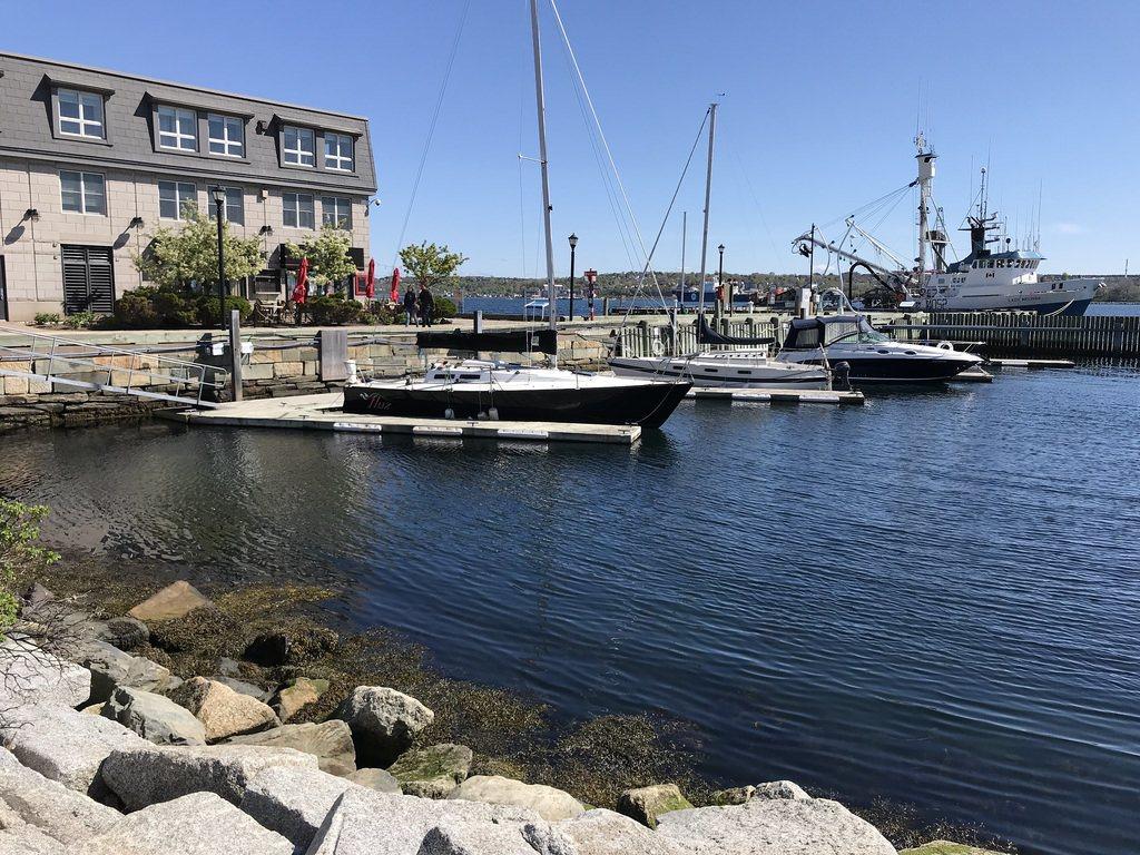 Harbourside walk in Halifax