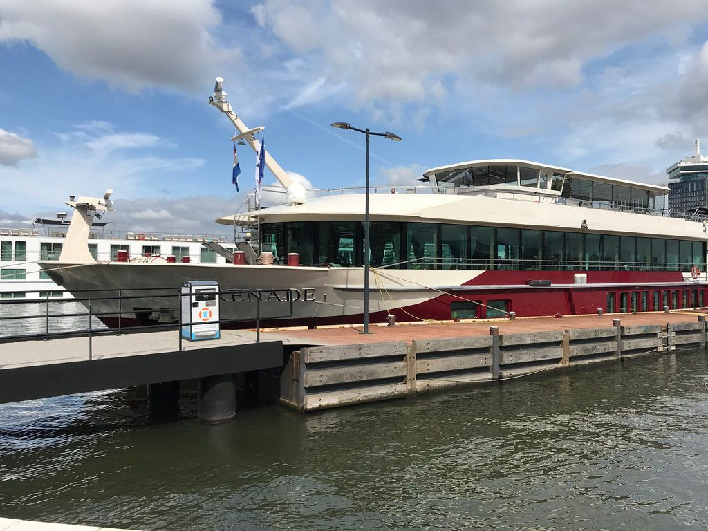 MS Serenade on our Titan River cruise