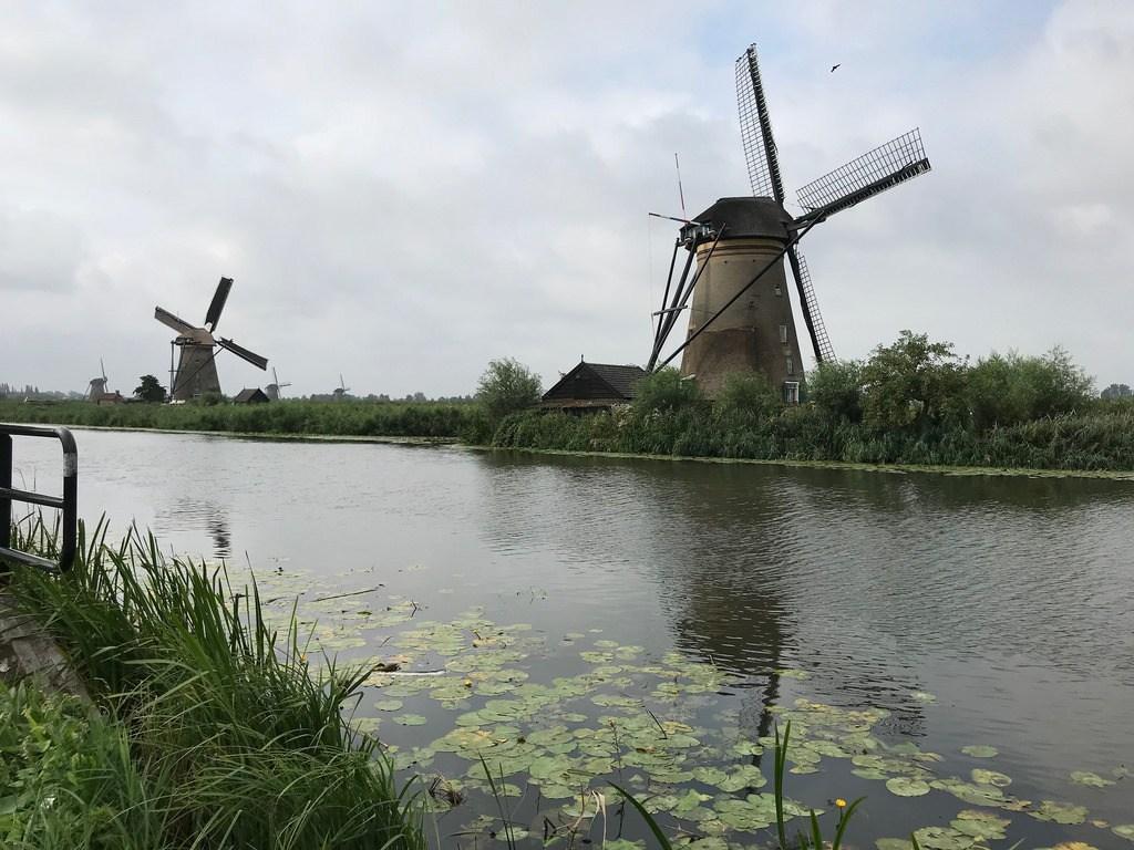 Windmills at Kinderdijk on Titan river cruise