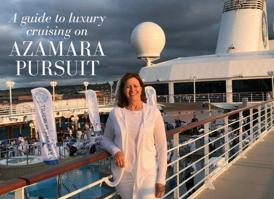 Luxury cruising on Azamara Pursuit the new ship from Azamara Club Cruises