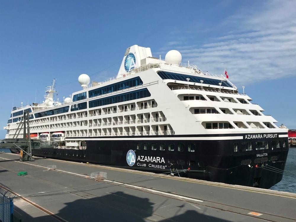Azamara Pursuit in Cherbourg