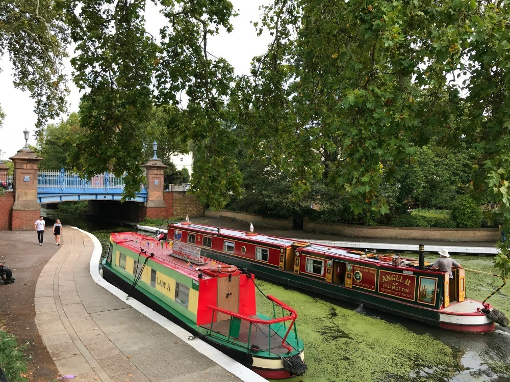 Canal Tour in Little Venice Photo Heatheronhertravels.com