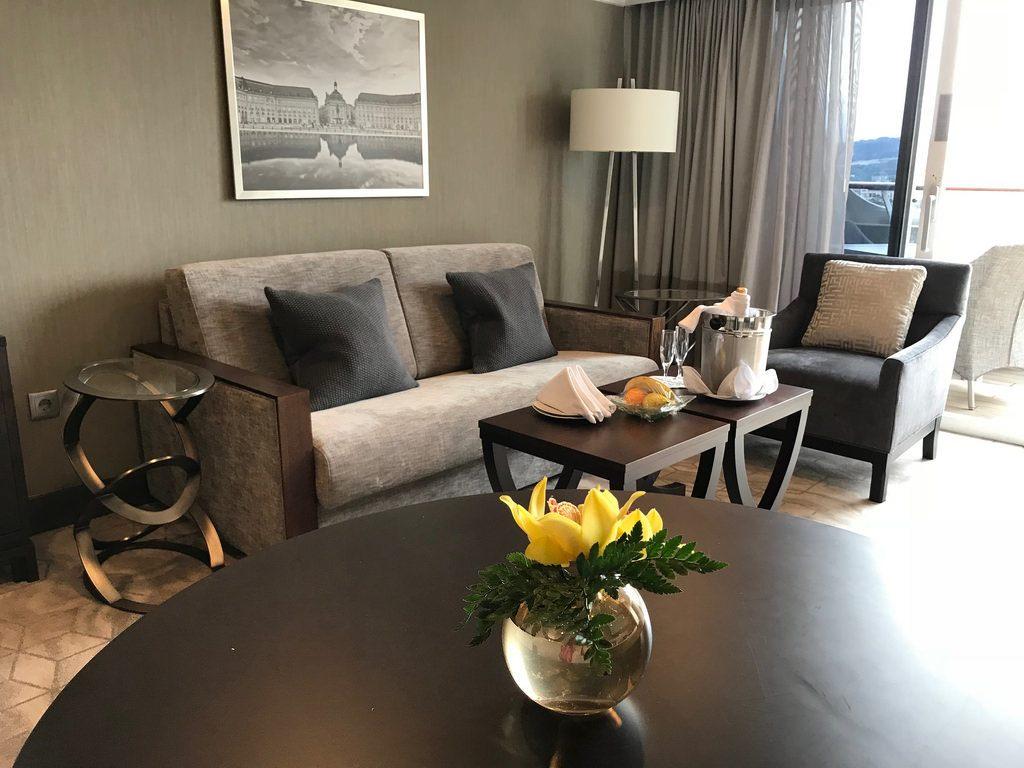 Club World Owner's suite on Azamara Pursuit