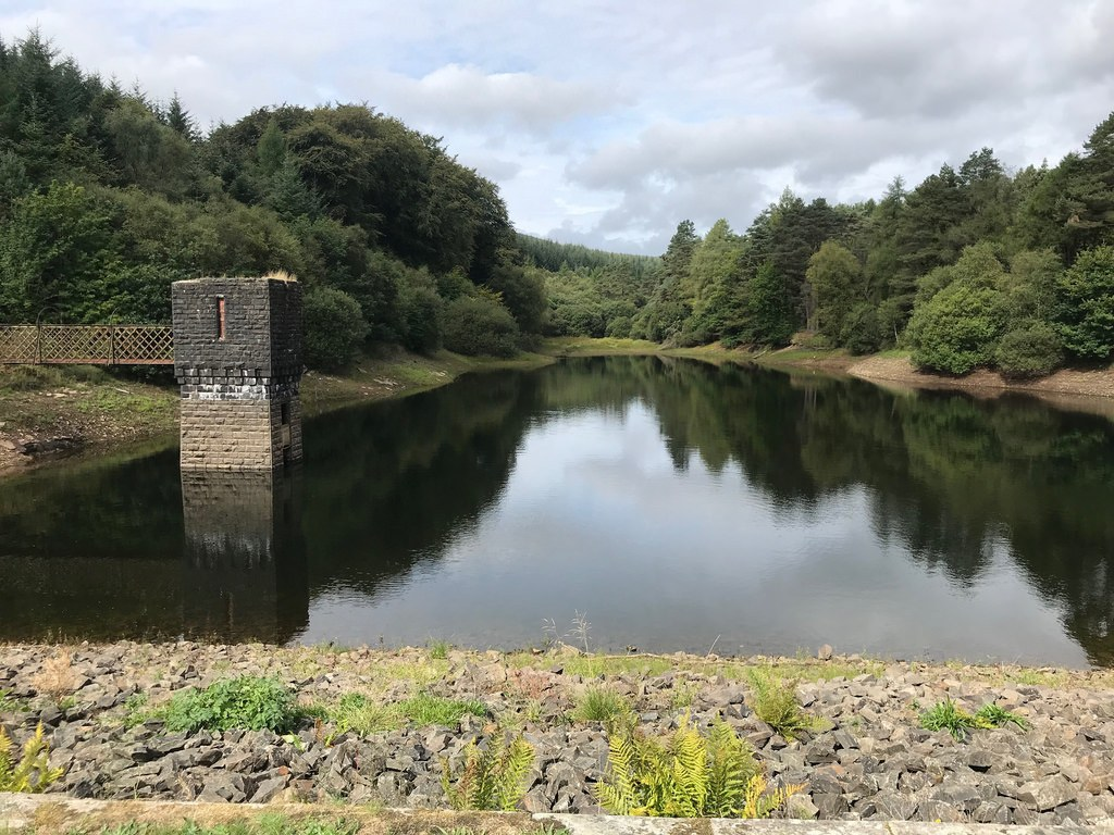 Cwm Clydach Reservoir in The Valleys South Wales Photo Heatheronhertravels