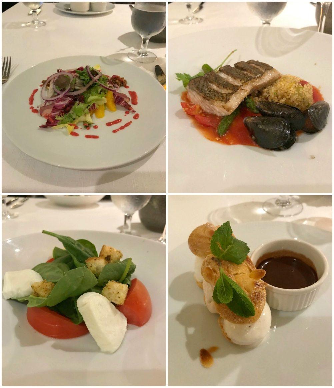Dinner in Discovery Restaurant on Azamara Pursuit with Azamara Cluc Cruises Photo Heatheronhertravels.com