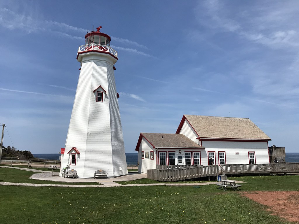 East Point Lighthouse in PEI Photo Heatheronhertravels.com