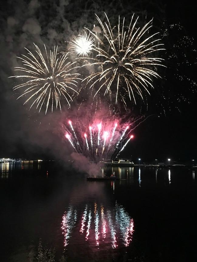 Fireworks on Azamara Pursuit with Azamara Club Cruises Photo Heatheronhertravels