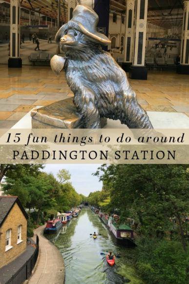 15 fun things to do around Paddington Station