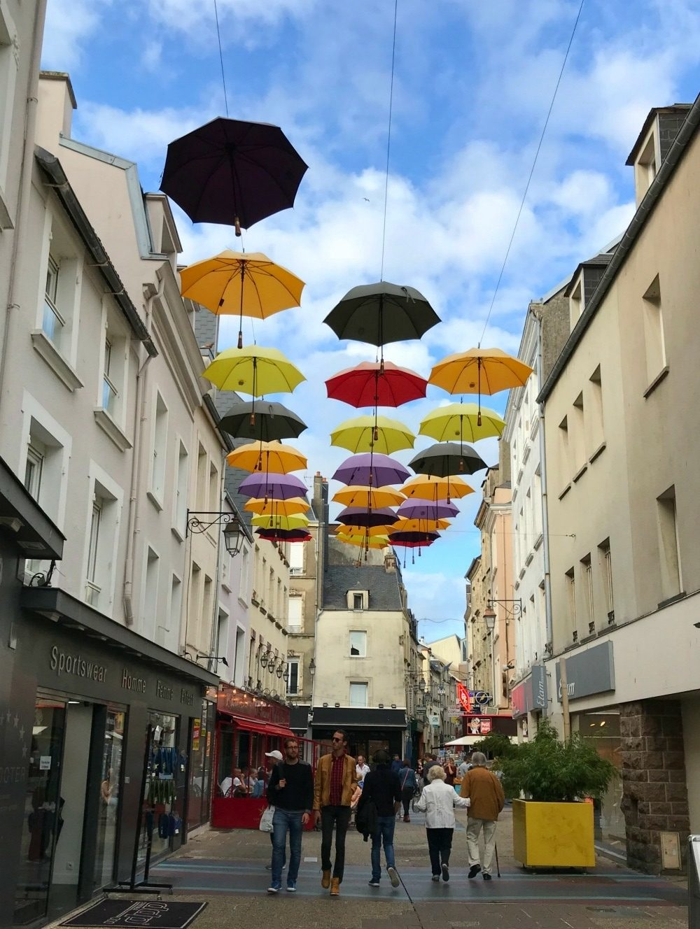 Parapluies of Cherbourg with Azamara Pursuit