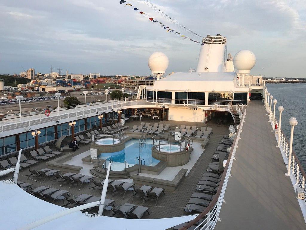 Pool Deck on Azamara Pursuit with Azamara Club Cruises Photo Heatheronhertravels.com