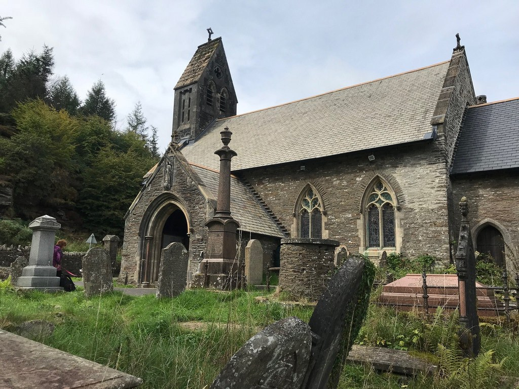 St Gwynnos Church in The Valleys South Wales Photo Heatheronhertravels