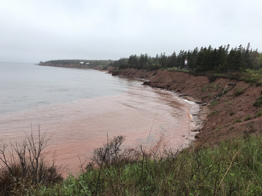 View at Cape Bear Lighthouse in PEI Photo Heatheronhertravels.com