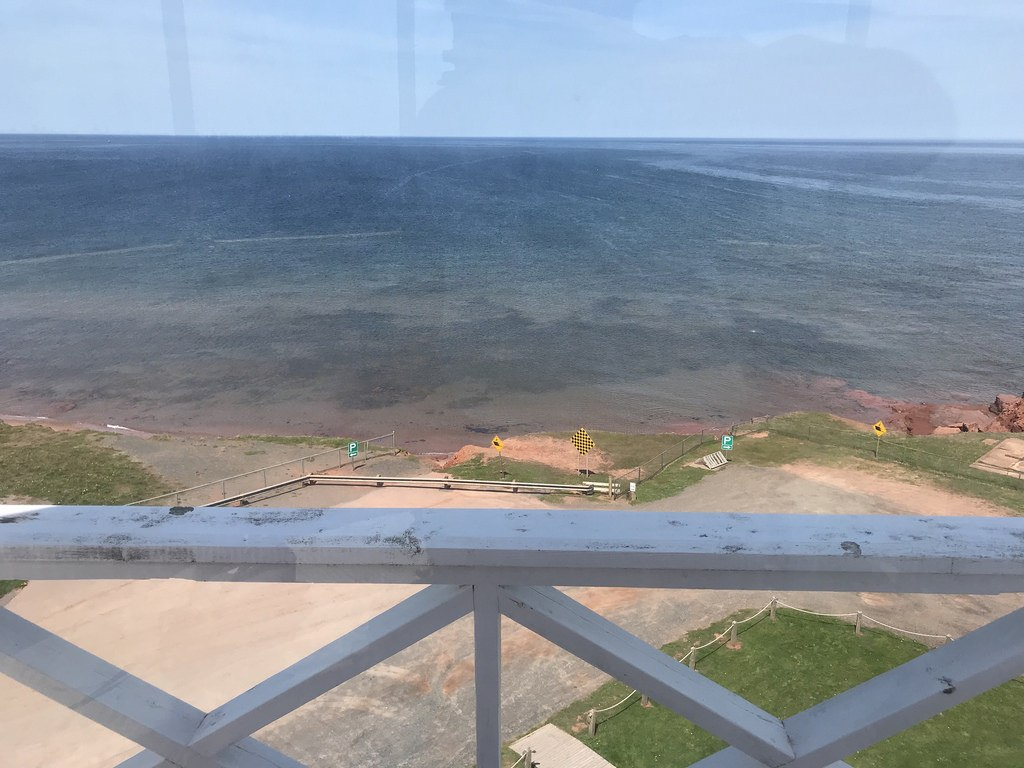 View from East Point Lighthouse in PEI Photo Heatheronhertravels.com