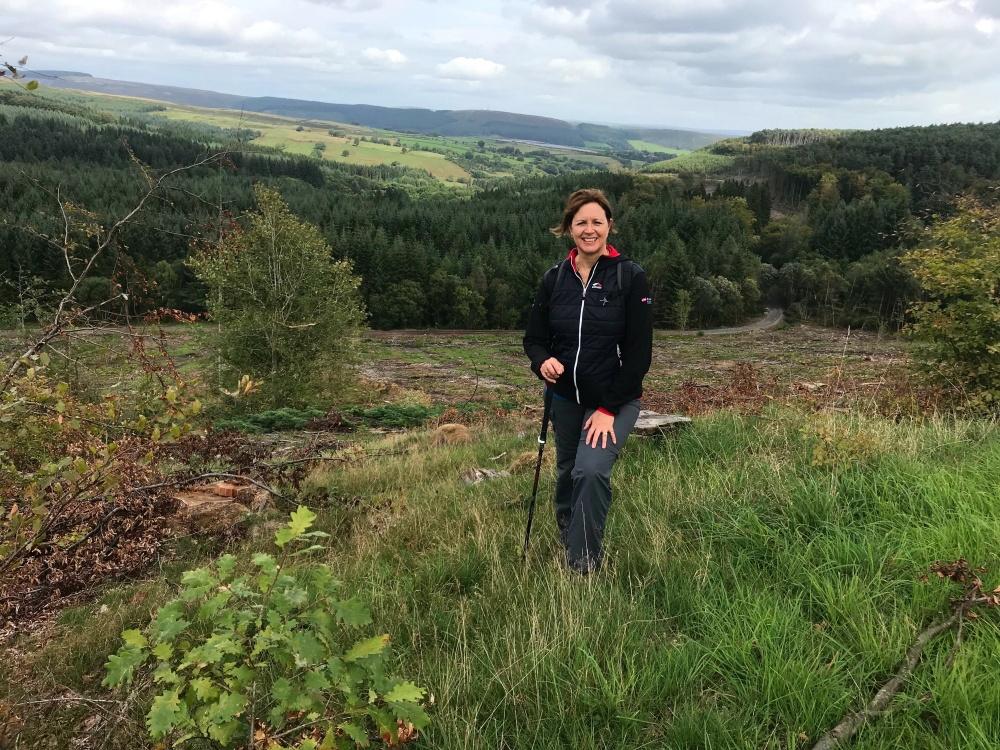 Walking in South Wales Valleys