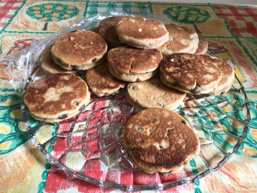 Welsh Cakes at Daerwynno Centre in The Valleys South Wales Photo Heatheronhertravels