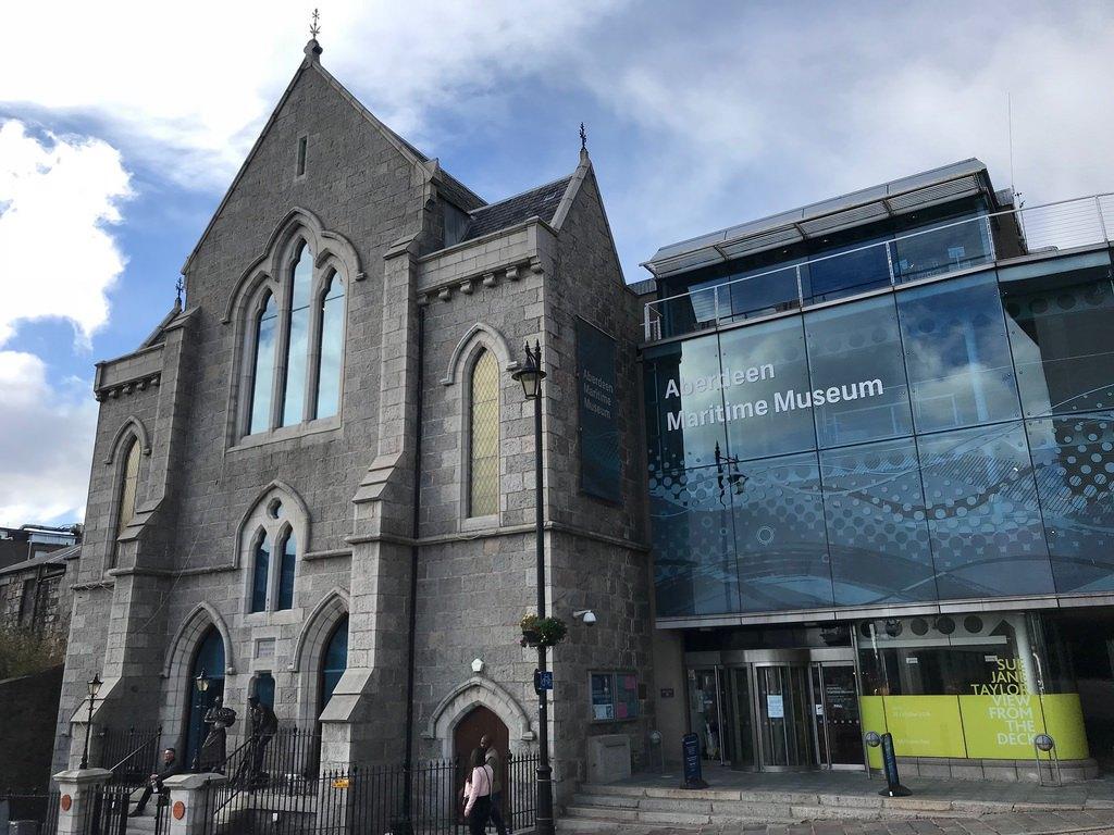 Aberdeen Maritime museum - weekend in Aberdeen with Flybmi