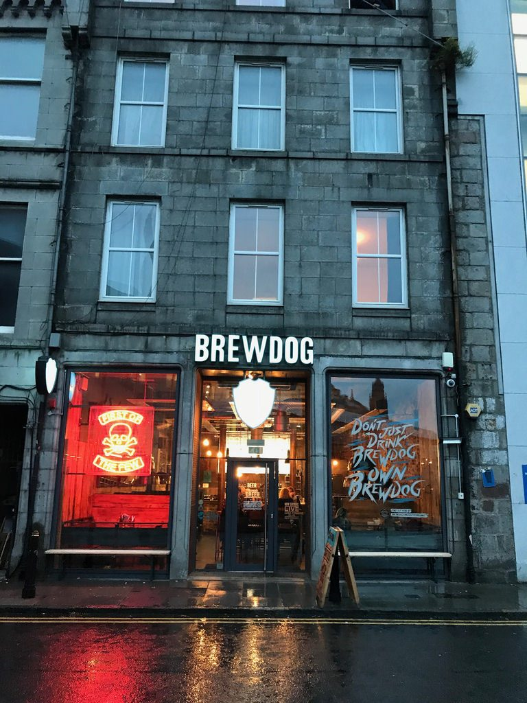 Brewdog in Aberdeen - things to do in Aberdeen with FlyBmi