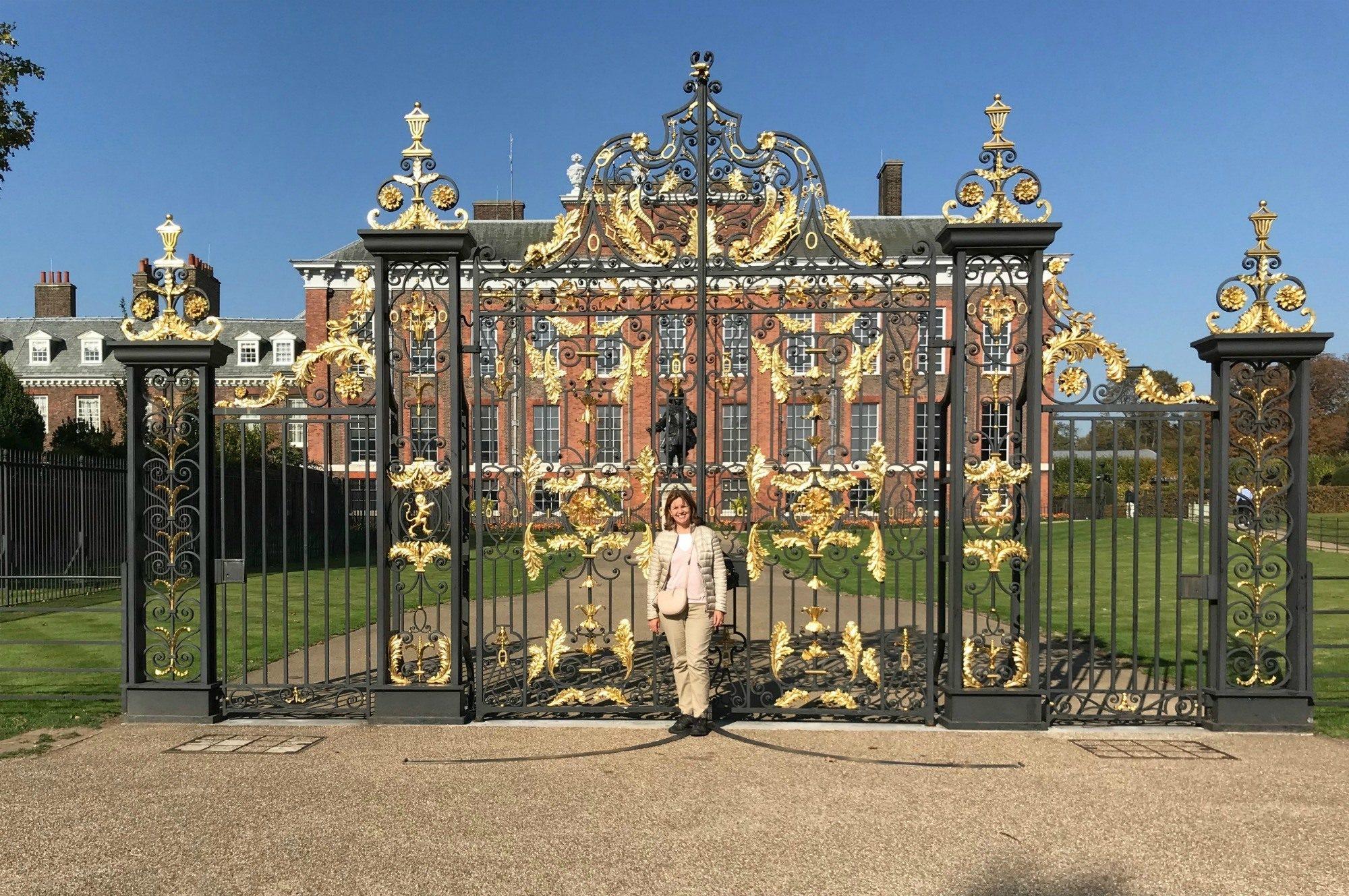 Wrought Iron gates of Kensington Palace, London