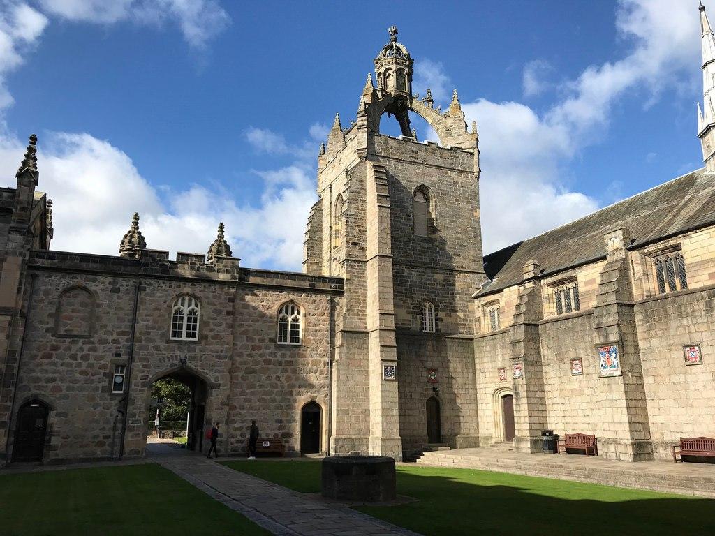 Kings College Aberdeen - weekend in Aberdeen with Flybmi