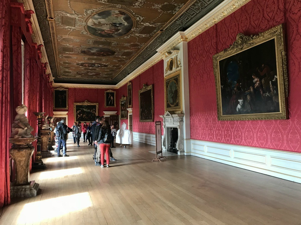 Kings Gallery at Kensington Palace, London Photo Heatheronhertravels.com