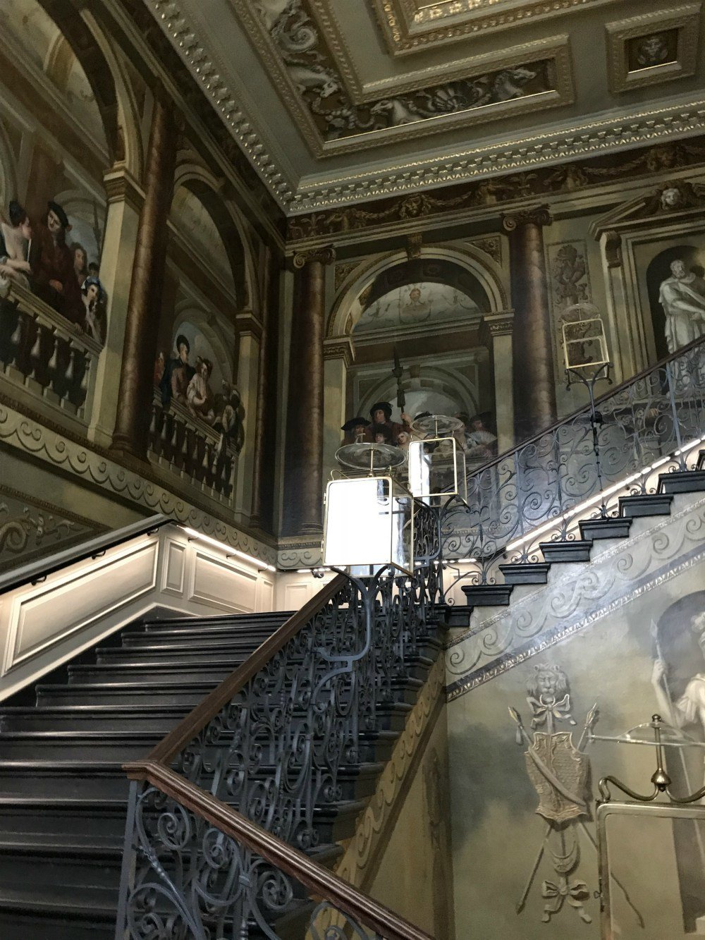 Kings staircase at Kensington Palace, London