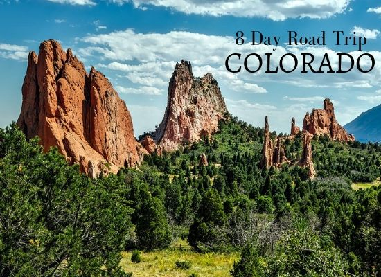 8 day road trip in Colorado USA