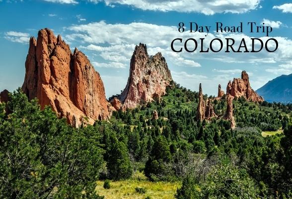 8 day road trip in Colorado USA
