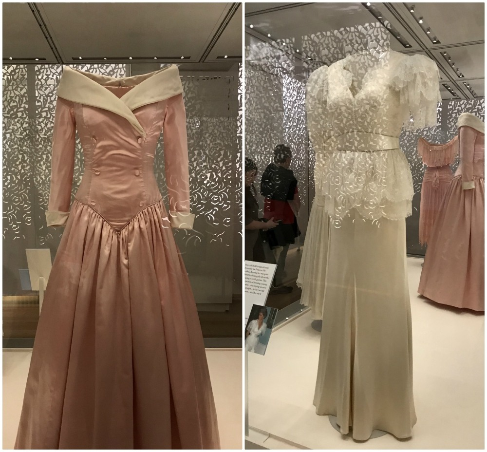 Princess Diana Dresses at Kensington Palace