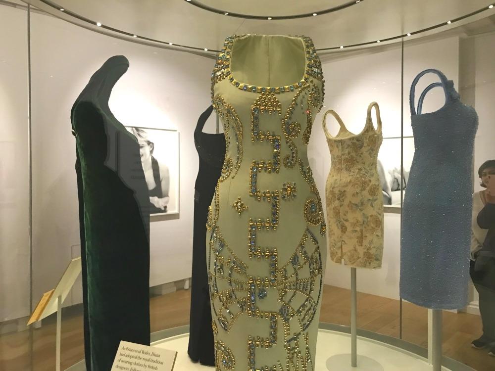 Princess Diana dresses at Kensington Palace Photo Heatheronhertravels.com