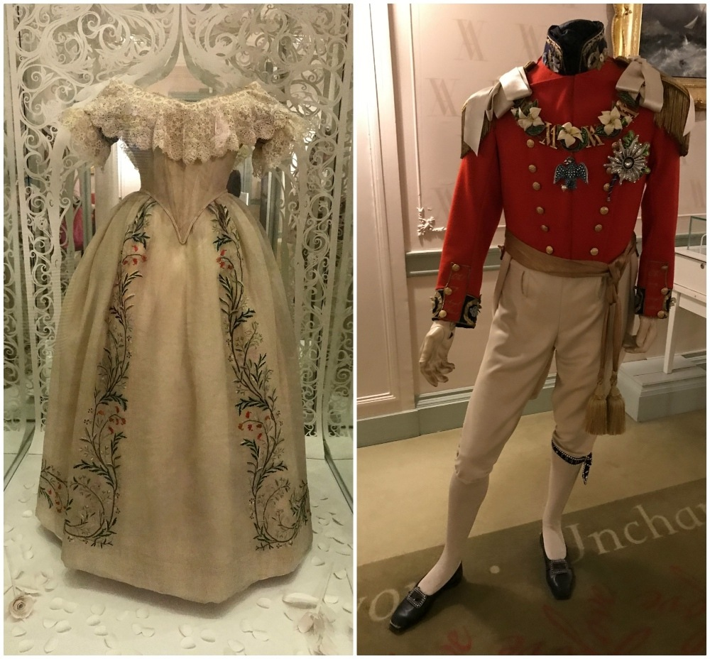 Queen Victoria dresses at Kensington Palace Photo- Heatheronhertravels.com
