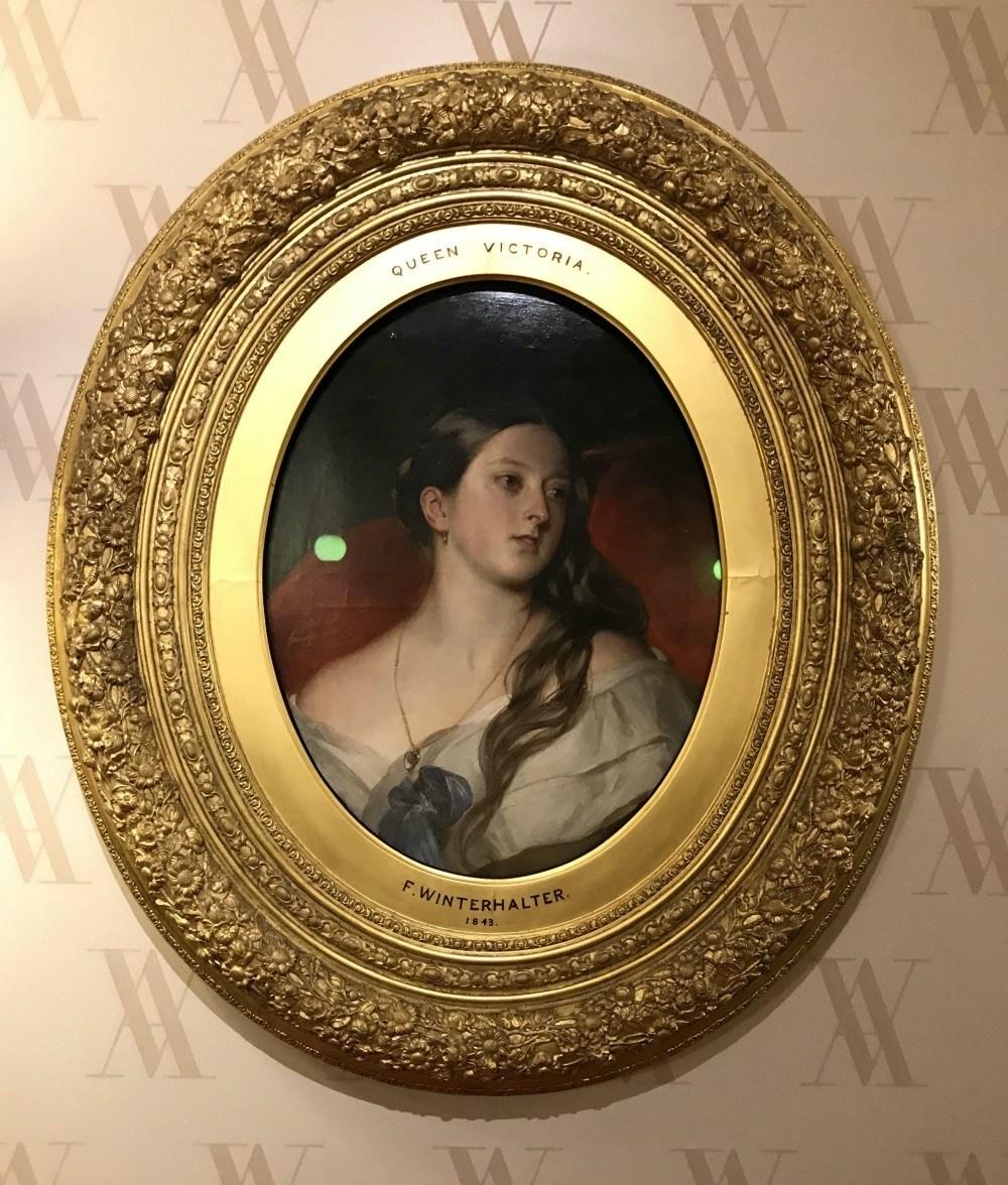 Queen Victoria Winterhalter portrait Kensington Palace