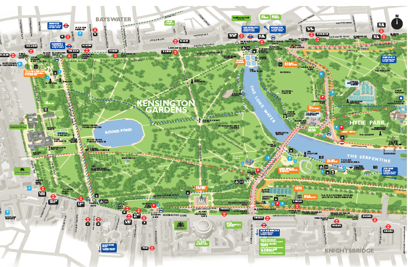 Kensington Gardens Map My complete guide to Kensington Gardens and Palace in London