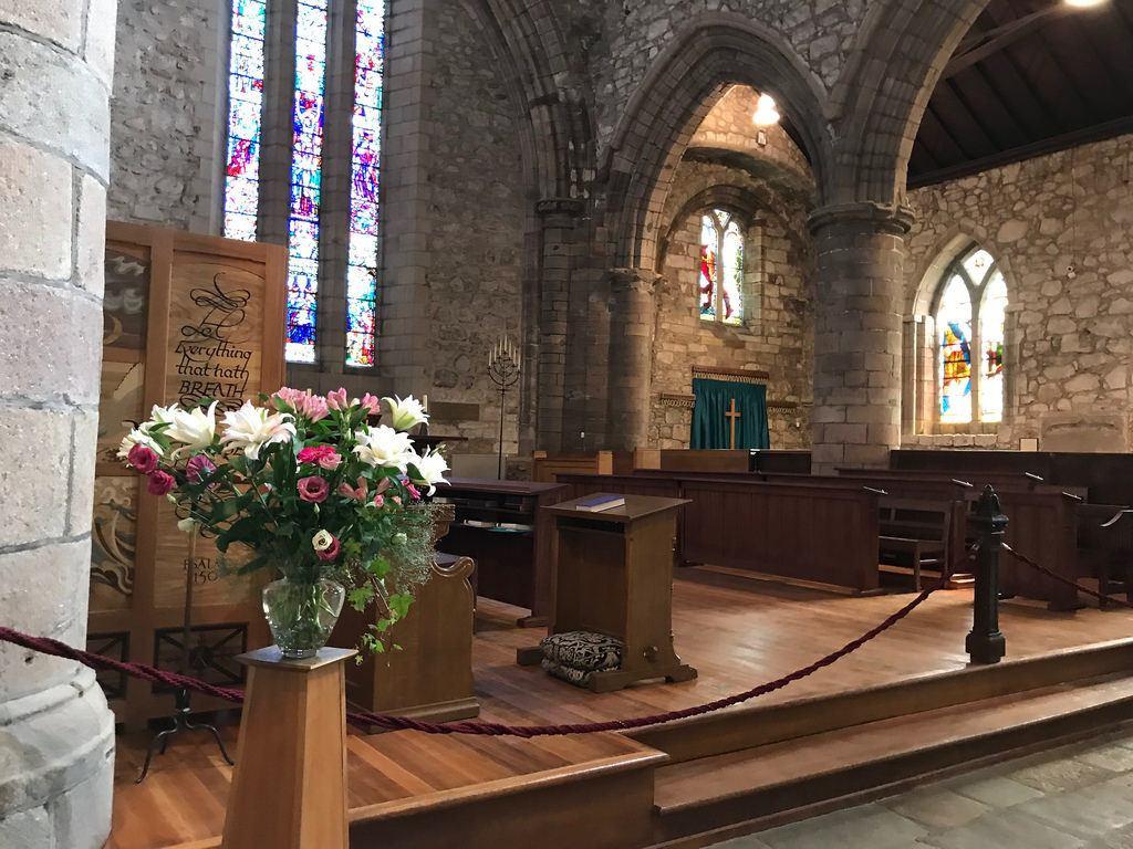 St Machar Cathedral Aberdeen - weekend in Aberdeen with Flybmi