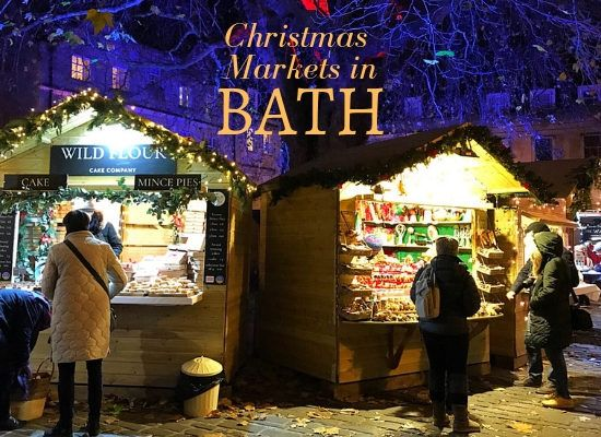 Christmas Markets in Bath, England