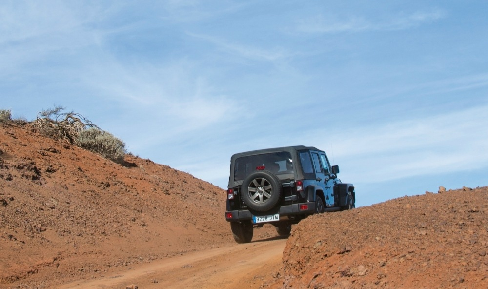 Change the Way Jeep Experience at Hard Rock Hotel Tenerife