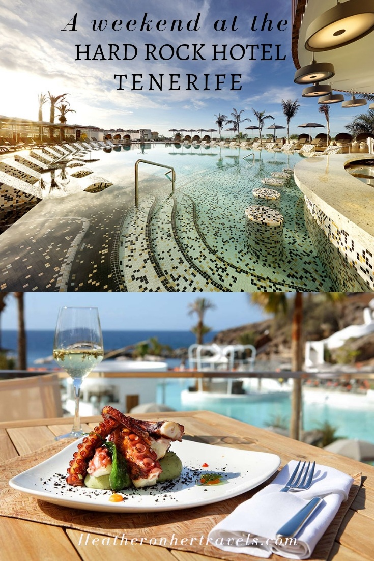 A weekend at the Hard Rock Hotel Tenerife
