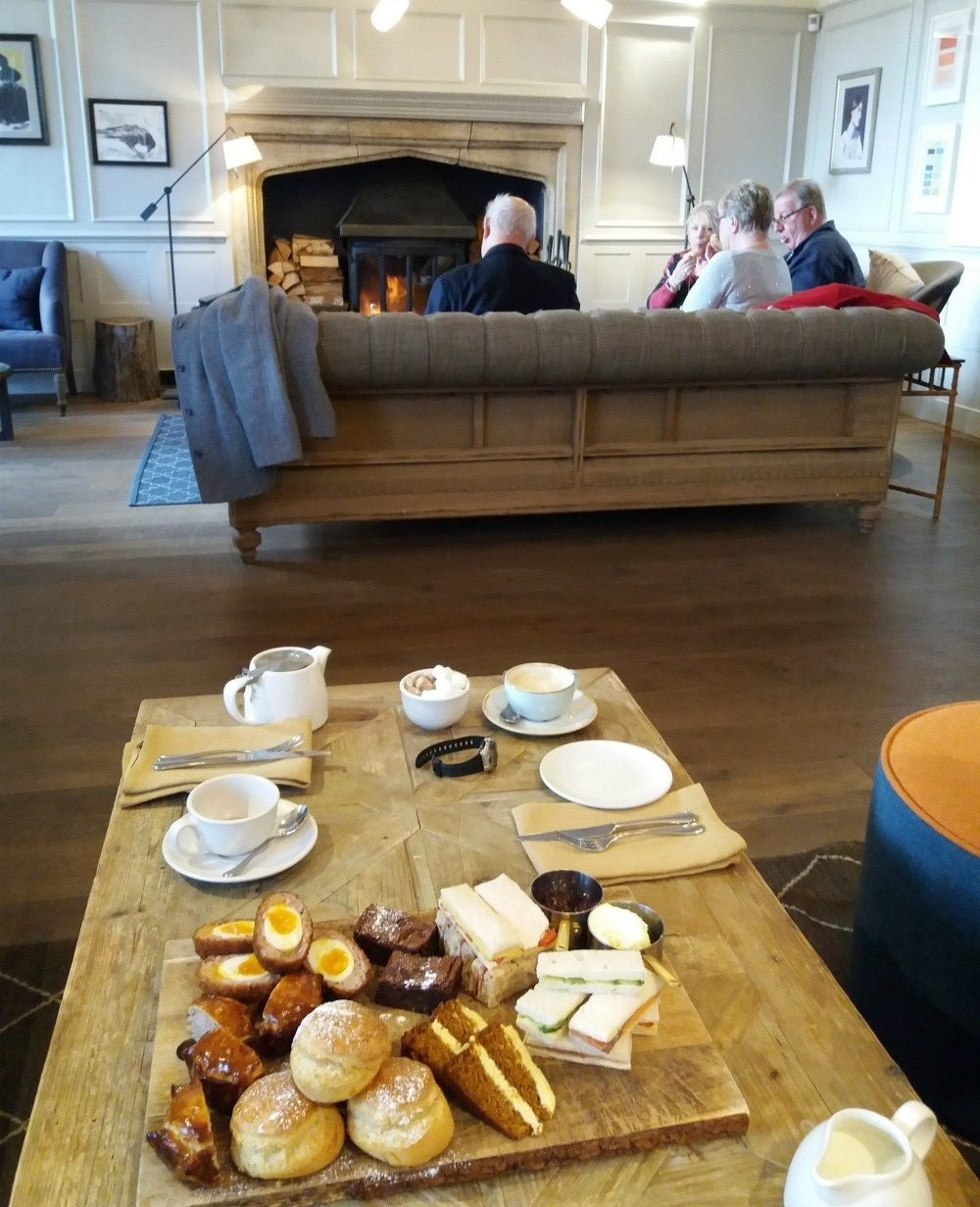Painswick Hotel afternoon tea